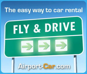The easy way to car rental : Fly and drive !